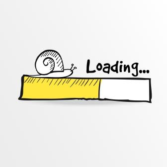 slow loading speed on site