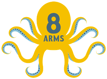 8 Arms Media Marketing Group logo
