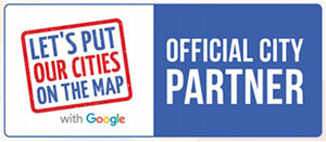 Official City Partner with Google badge