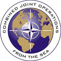 Combined Joint Operations from the sea logo