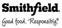 Smithfield Good food. Responsibly. logo